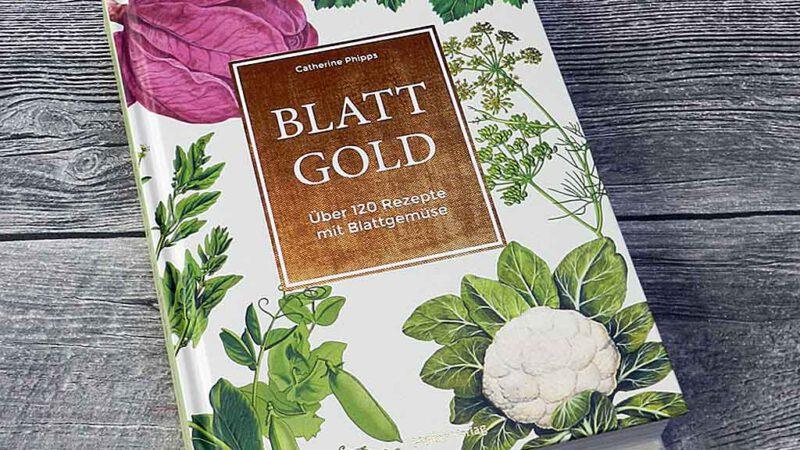Blattgold in vielen Varianten und Variationen.