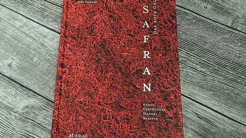 Safran - das rote Gold ist unser Buch des Monats