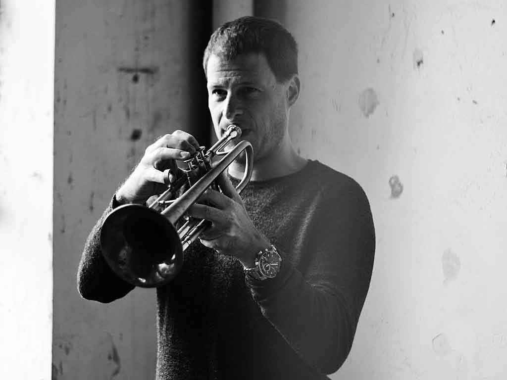 Thomas Siffling an der Trompete.