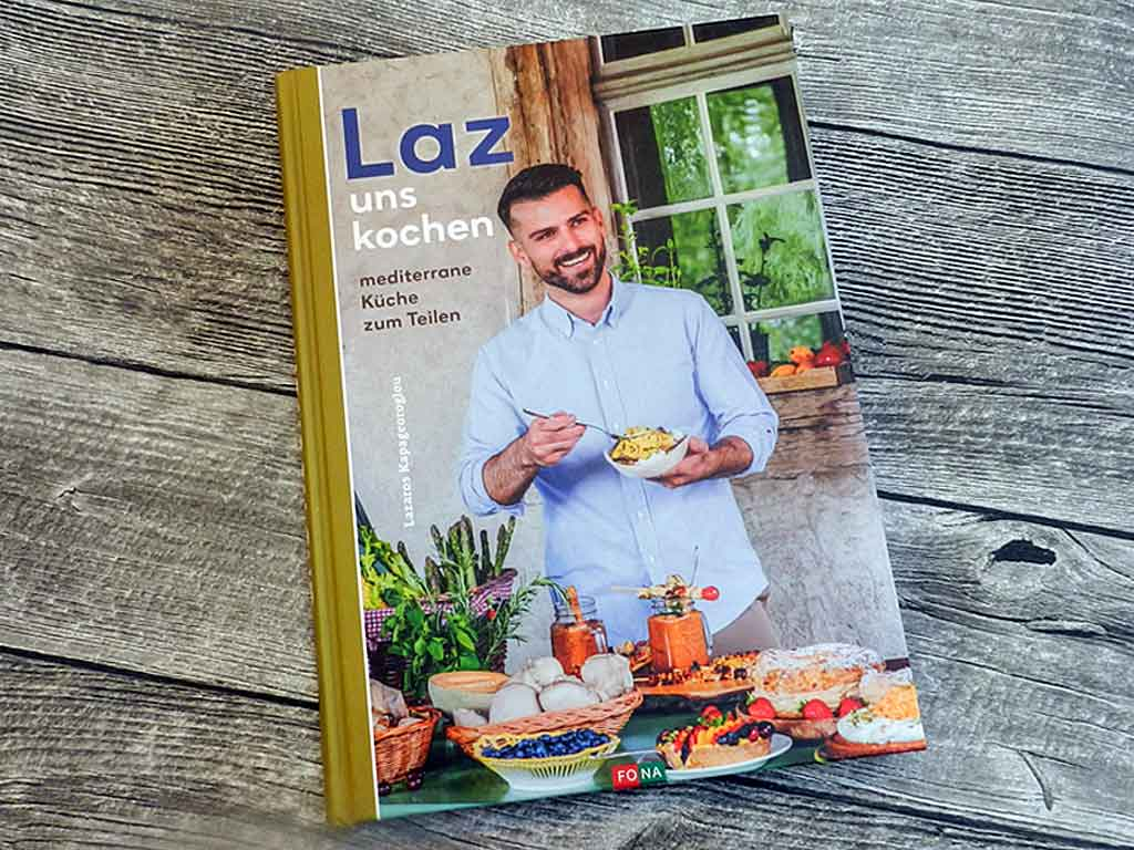 Laz uns kochen - mediterrane Küche zum Teilen.