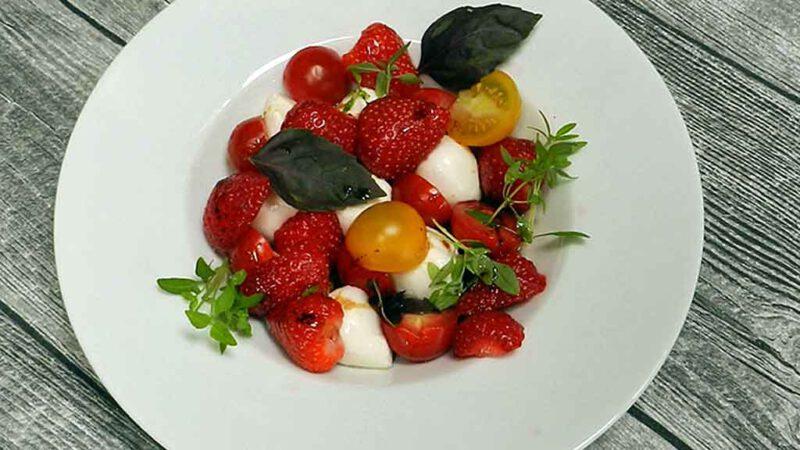 Die Erdbeerzeit gilt es ausgiebig zu nutzen.